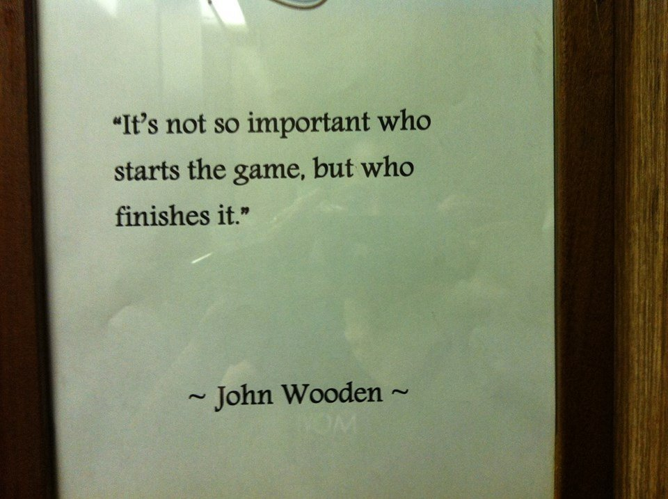 Wooden Quote