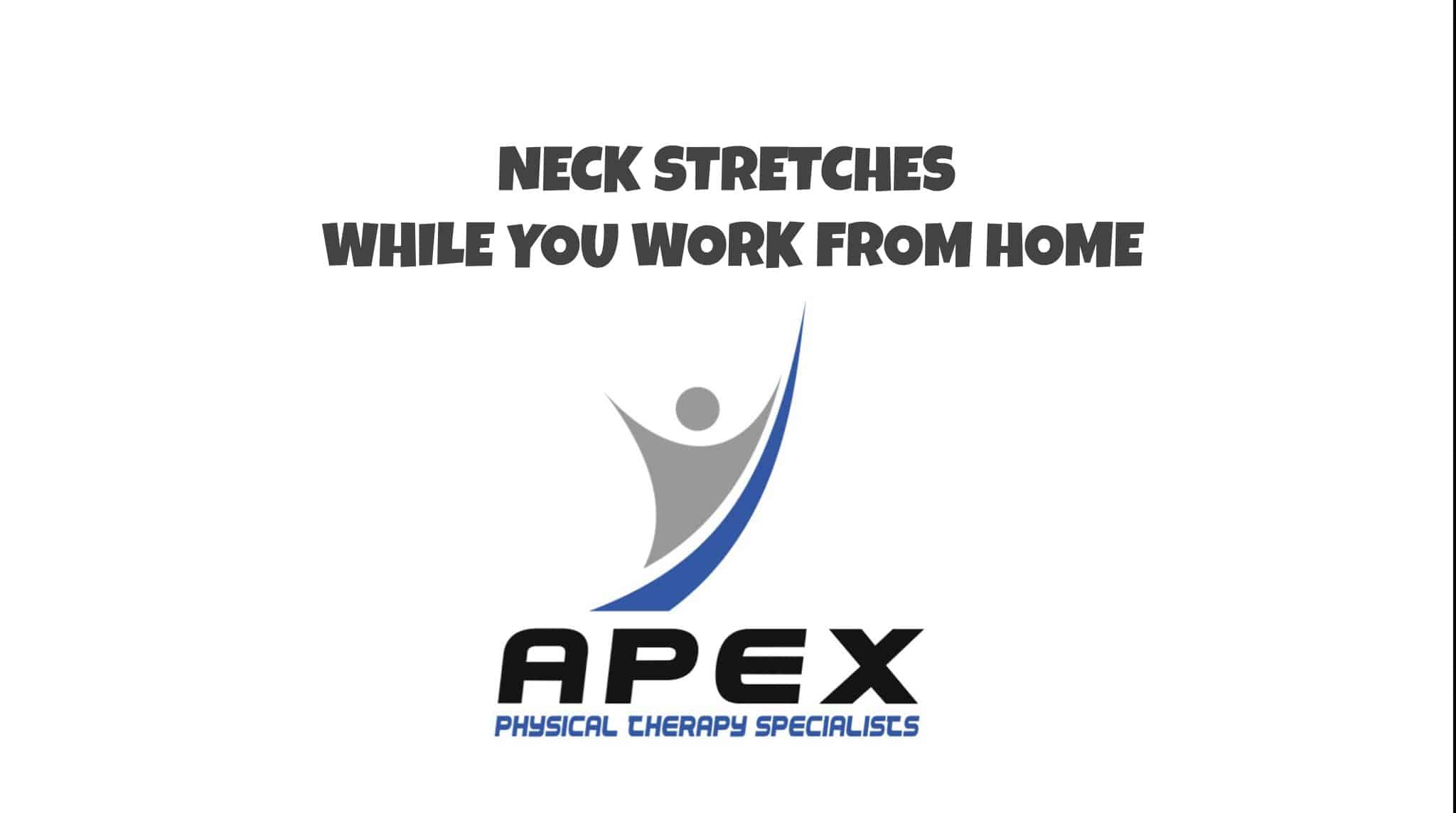 neck stretches at home