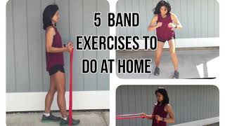 band exercises